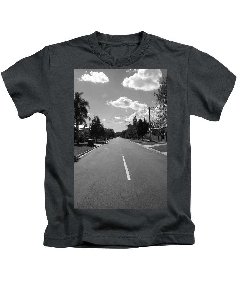 There Kids T-Shirt featuring the photograph There by Sarina Damen