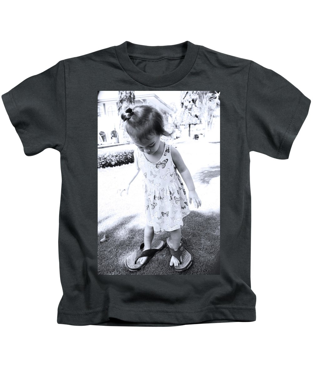 Mati Kids T-Shirt featuring the photograph To Fill by Jez C Self