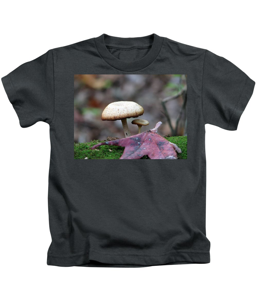 Toad Stool Kids T-Shirt featuring the photograph Toad Stool Iv by Stacey May