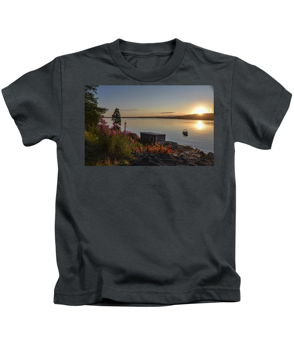 Kids T-Shirt featuring the photograph Tones Of Home by Andrew Day Photography