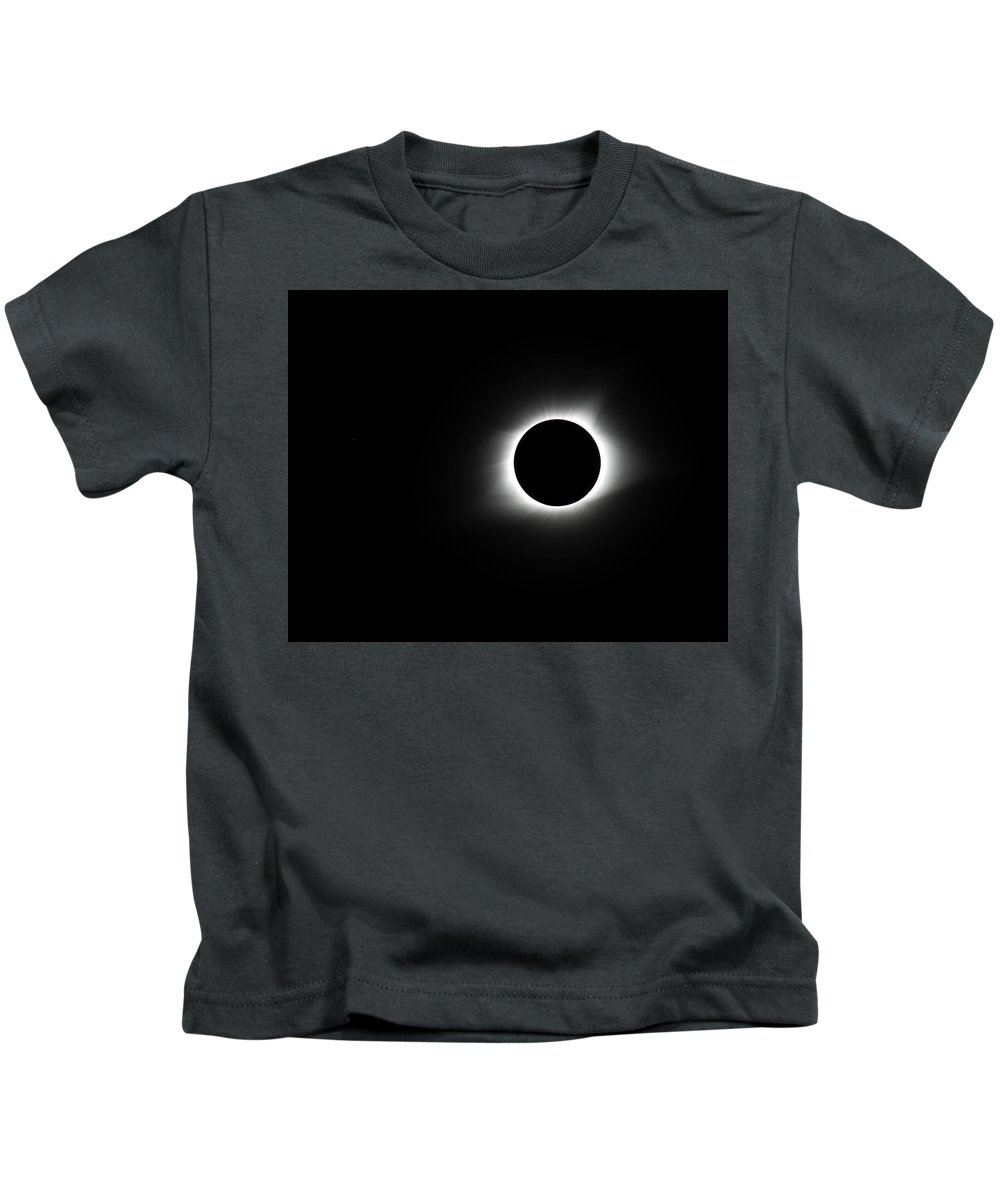 Sun Kids T-Shirt featuring the photograph Totality by Leah Palmer