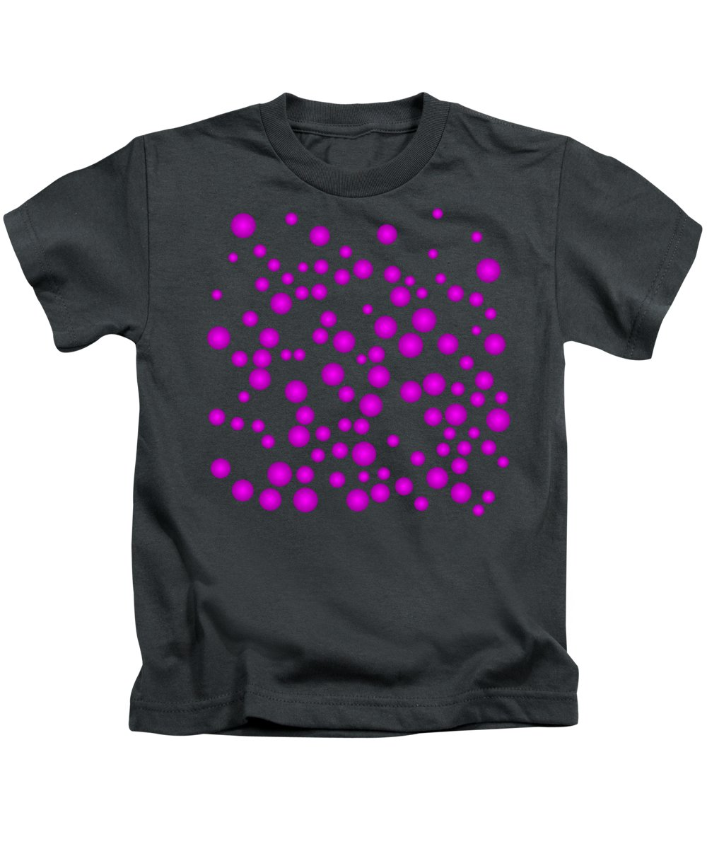 Abstract Kids T-Shirt featuring the digital art Tp.3.10 by Gareth Lewis