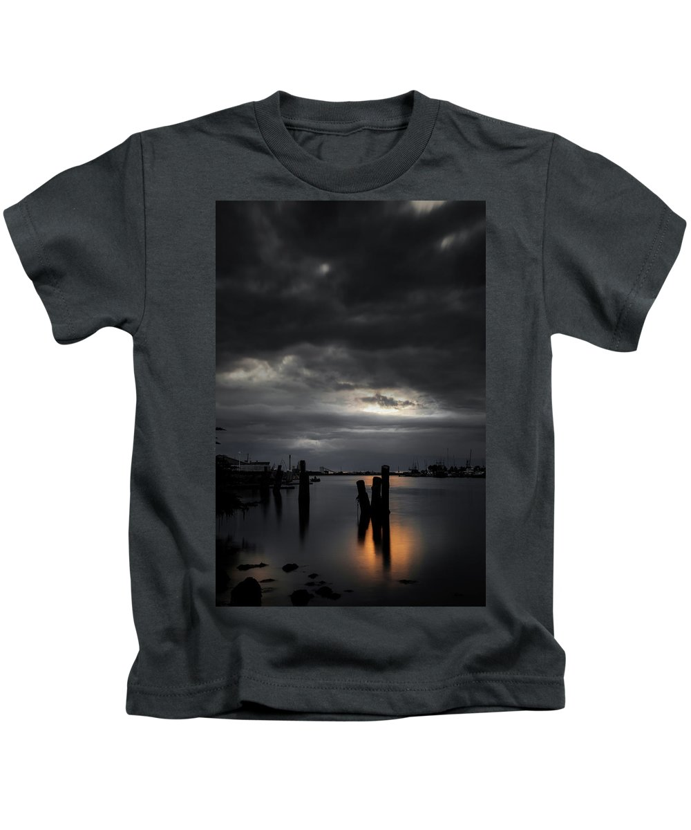 Sunset Kids T-Shirt featuring the photograph Tranquil by Mark Alder