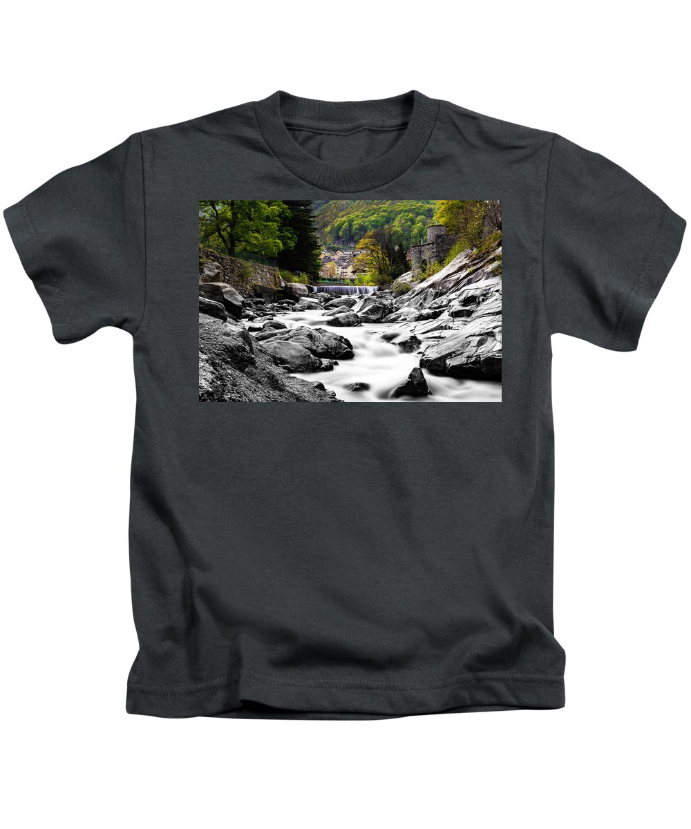 Landscape Kids T-Shirt featuring the photograph Transition by Lukasz Jarocki