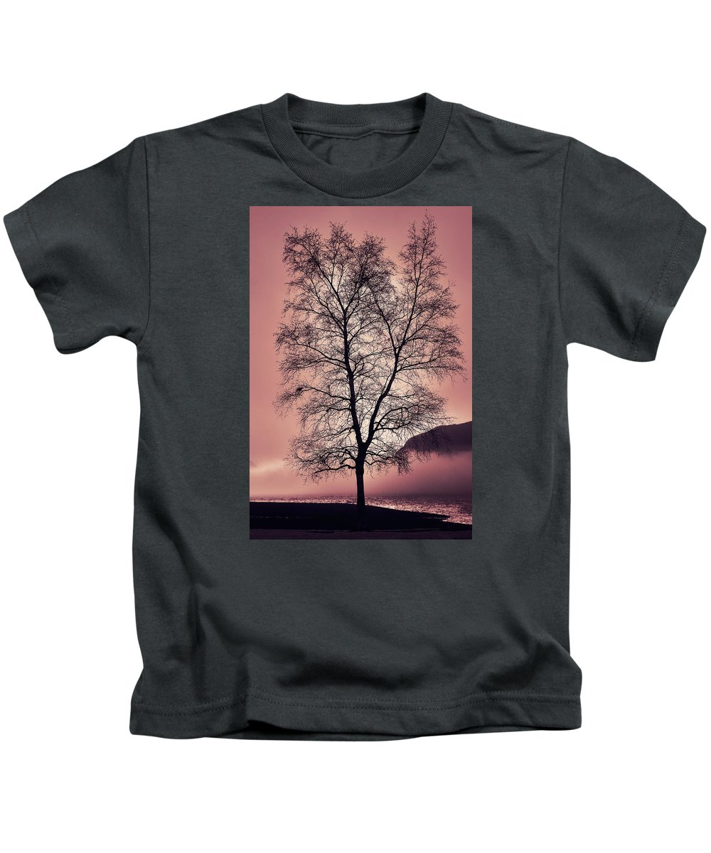 Branches Kids T-Shirt featuring the photograph Tree Branches by Naman Imagery