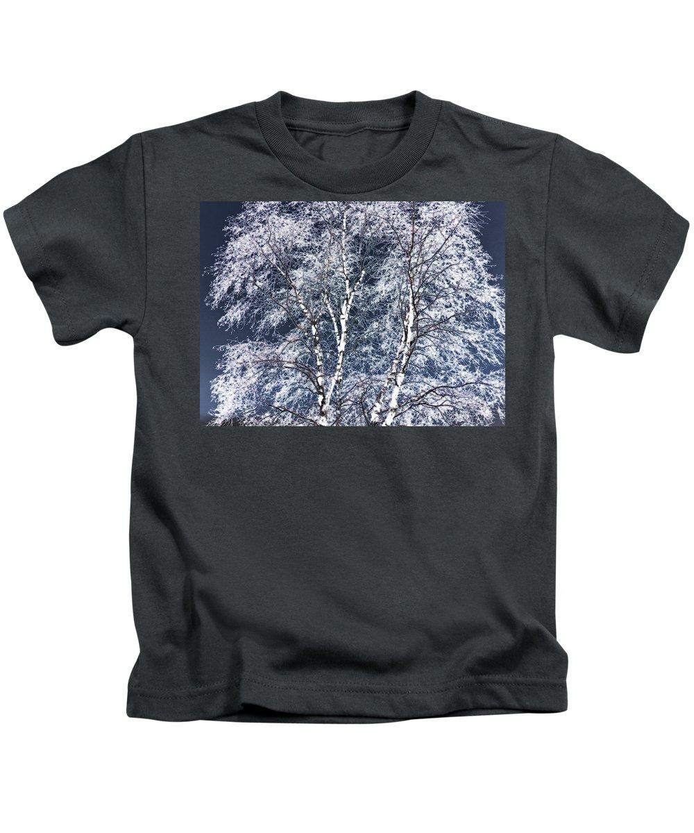Tree Kids T-Shirt featuring the digital art Tree Fantasy 14 by Lee Santa