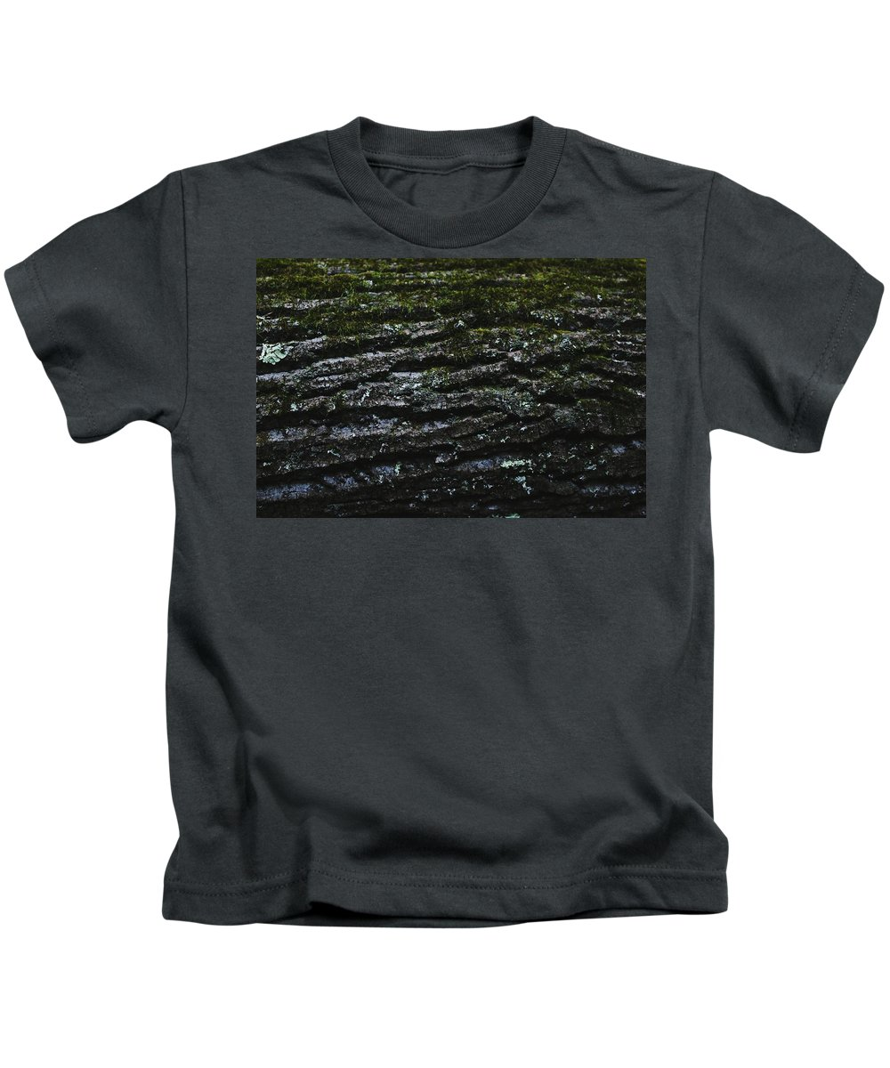 Tree Kids T-Shirt featuring the photograph Tree Patterns by Hunter Kotlinski