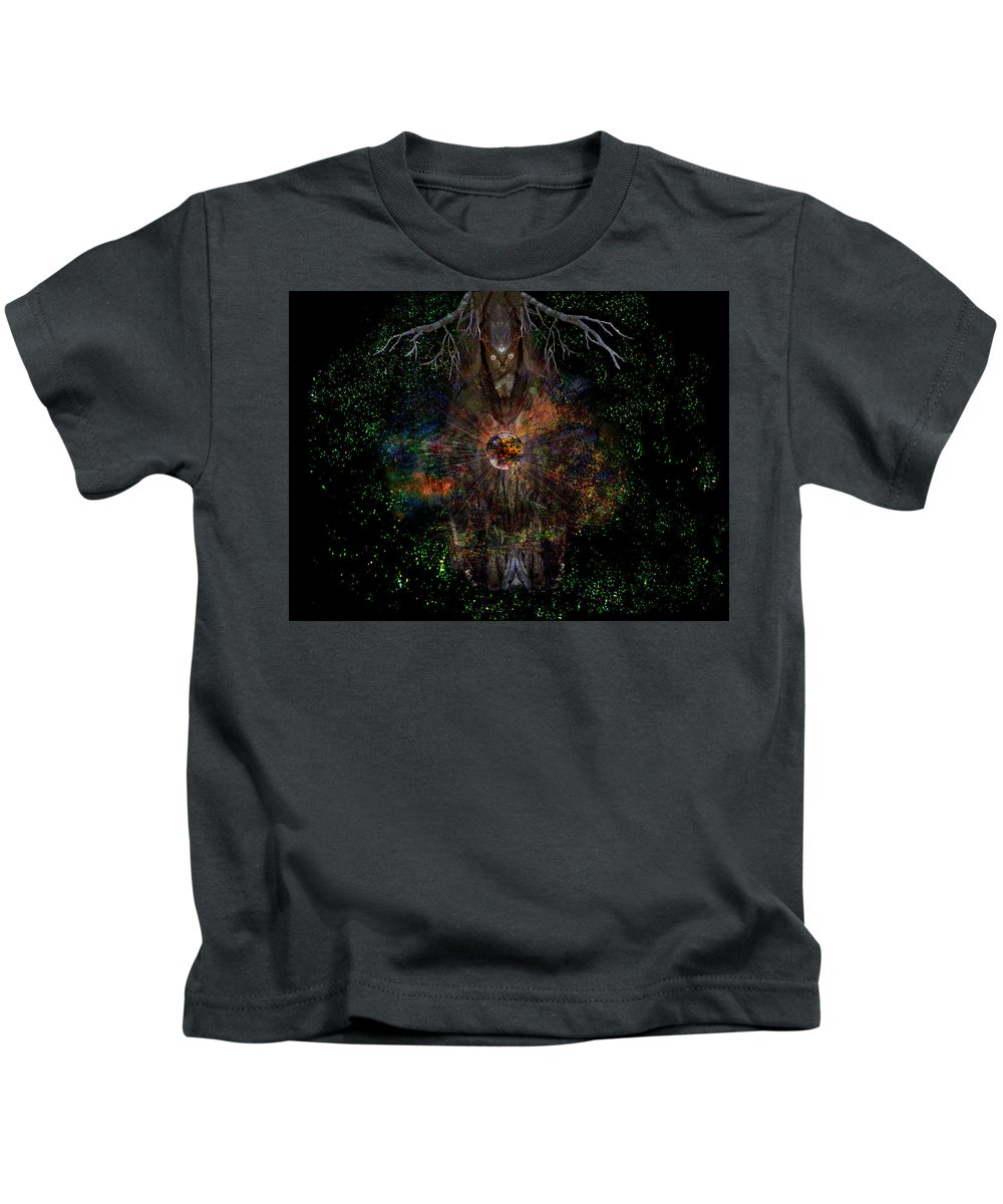 Tree Kids T-Shirt featuring the photograph Tree Wizard by Bob Welch