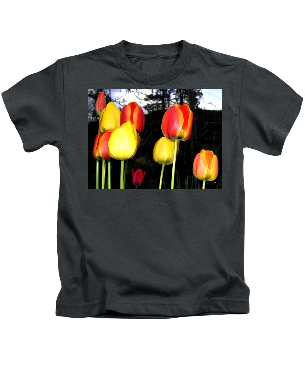 Tulips Kids T-Shirt featuring the photograph Tulipfest 9 by Will Borden