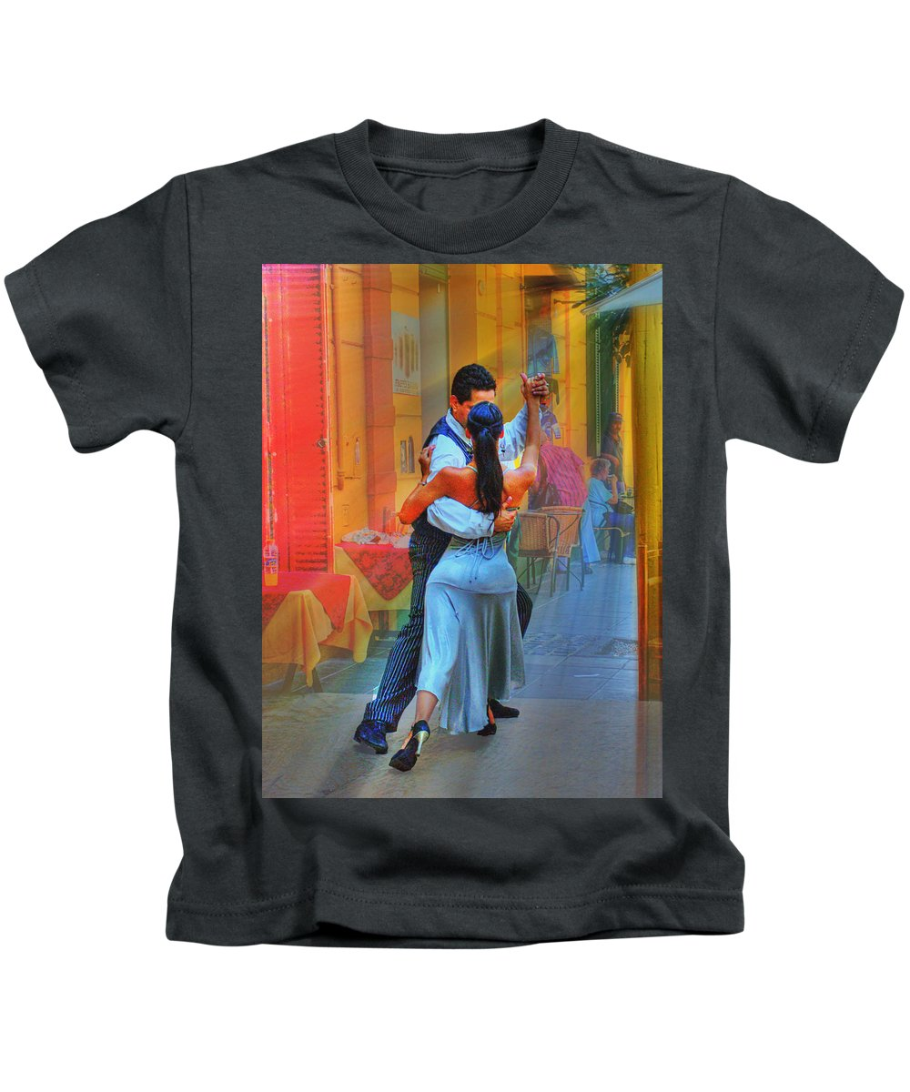 Dance Kids T-Shirt featuring the photograph Two Tango by Francisco Colon