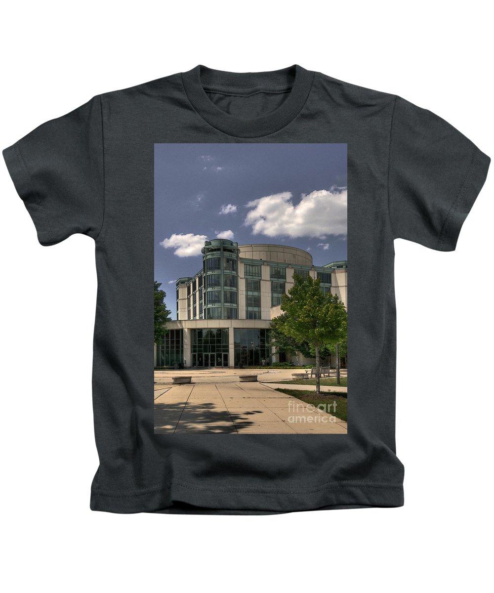 Umbc Kids T-Shirt featuring the photograph Umbc by Lois Bryan