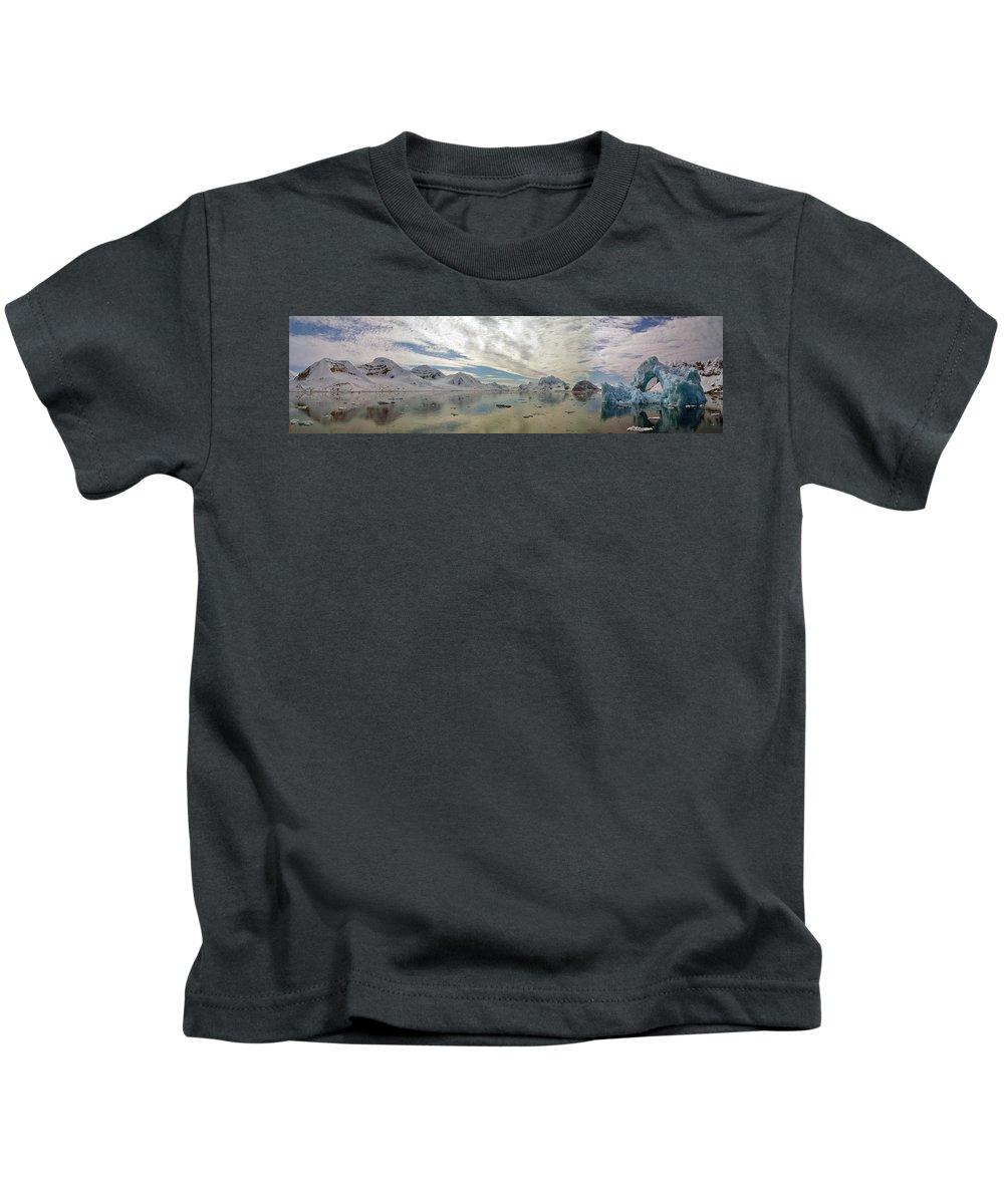 Landscape Kids T-Shirt featuring the photograph Un Autre Monde by Erwann K