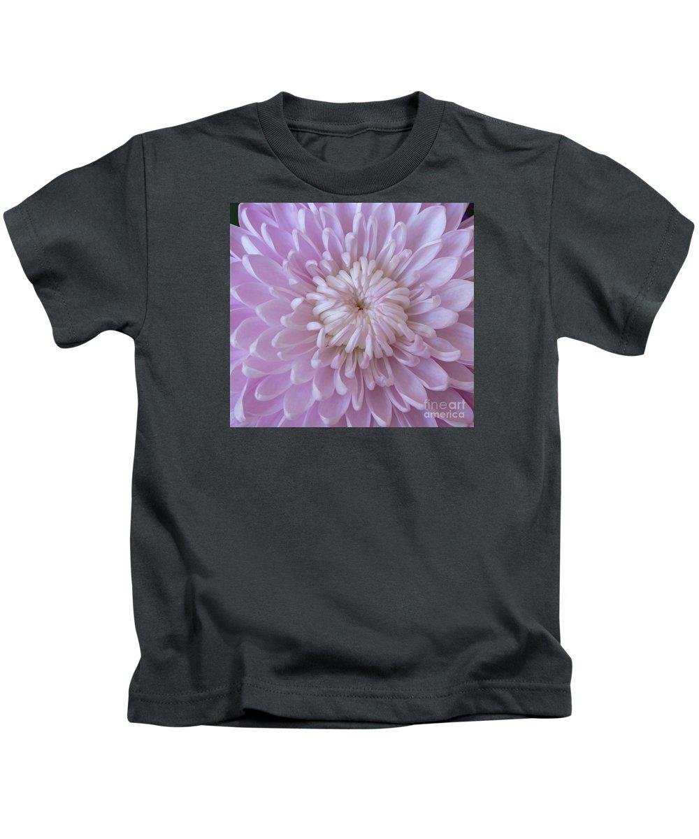 Mum Kids T-Shirt featuring the photograph Unfolding Beauty by Ann Horn