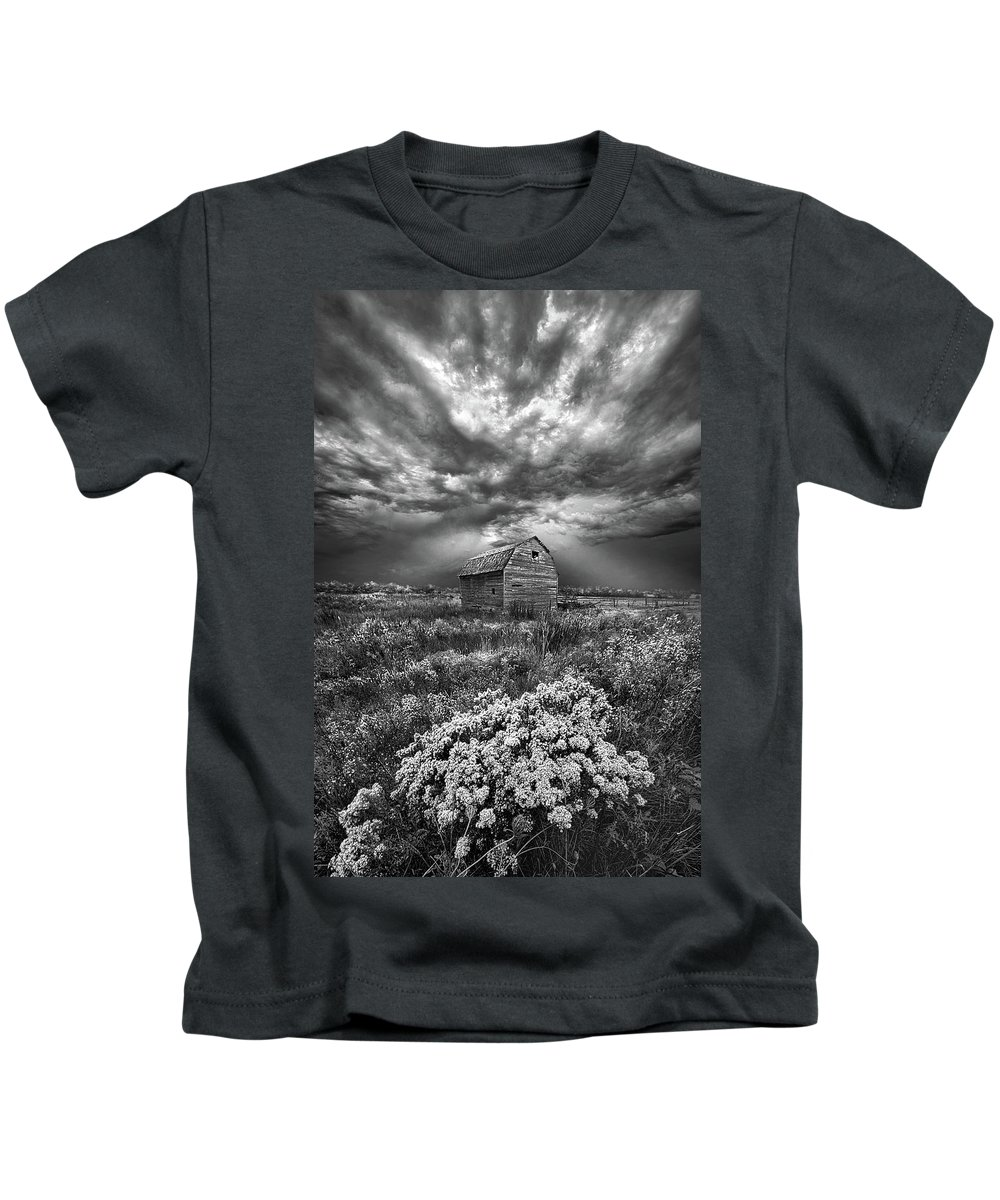 Summer Kids T-Shirt featuring the photograph Unsettled by Phil Koch