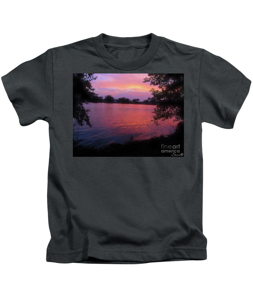 Sunset Kids T-Shirt featuring the photograph Until December by September Stone