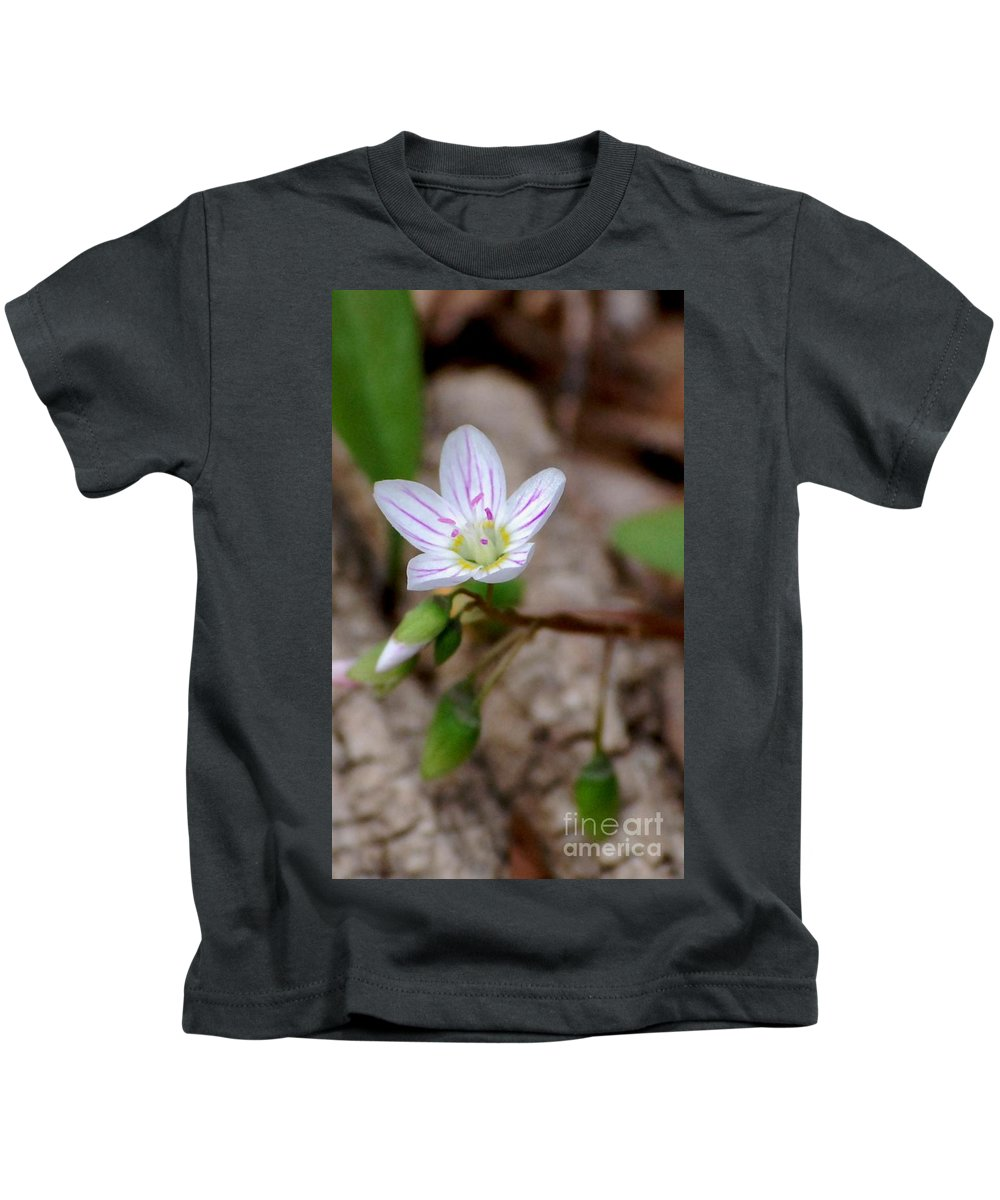 Floral Kids T-Shirt featuring the photograph Untitiled Floral by David Lane