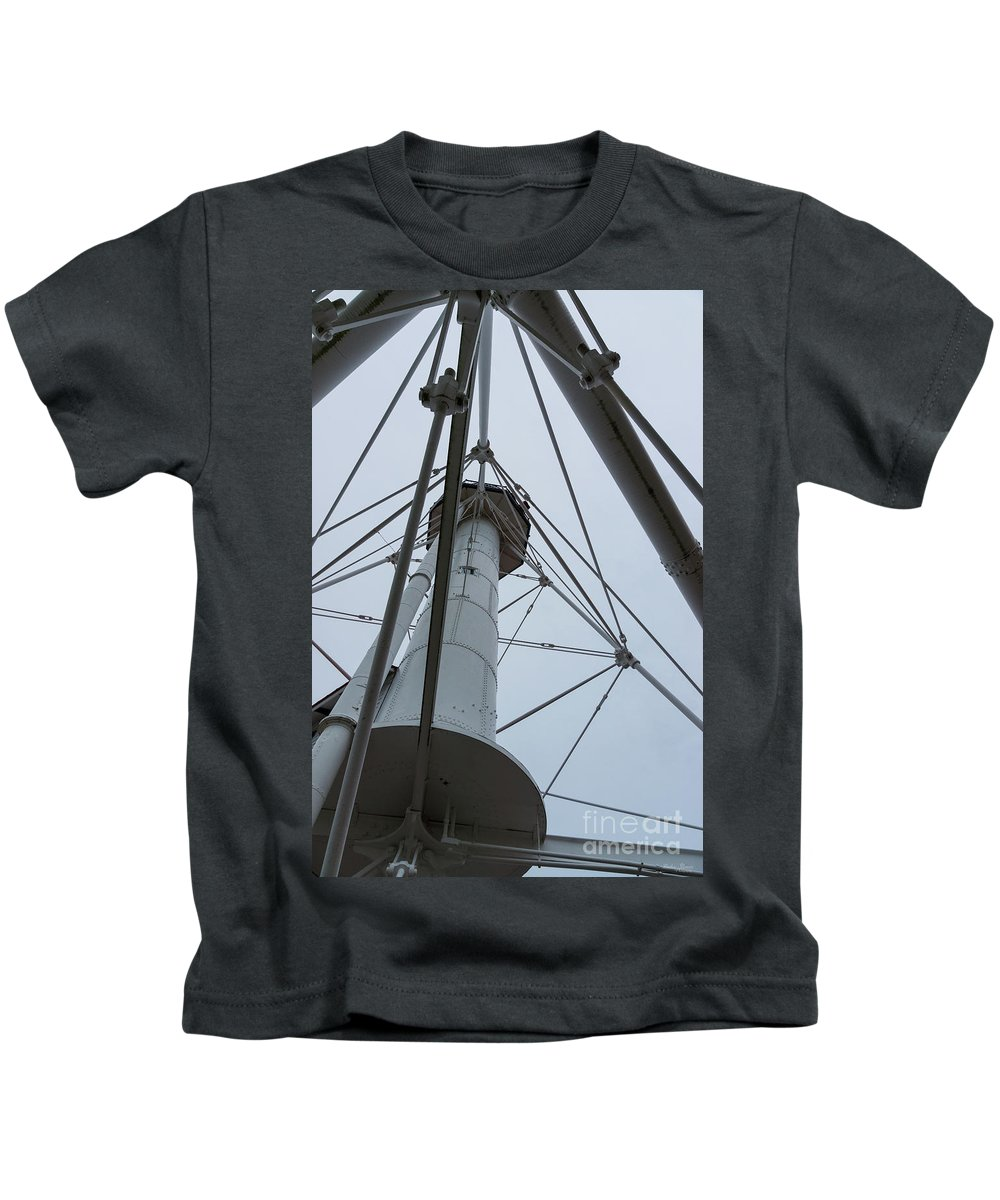 Abstract Kids T-Shirt featuring the photograph Up Whitefish Point by Jennifer White