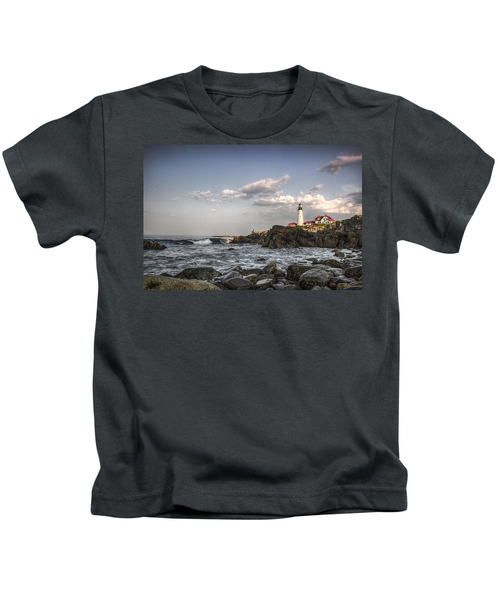Vacation Land Kids T-Shirt featuring the photograph Vacation Land by David Pratt