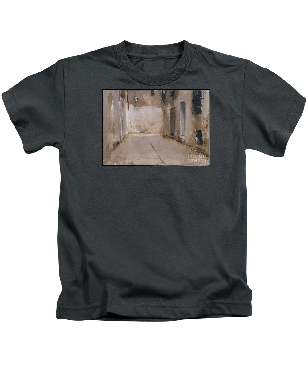 Venice Kids T-Shirt featuring the painting Venice by Celestial Images