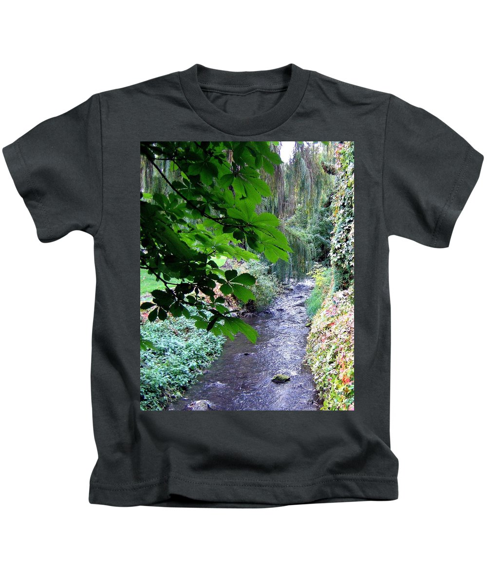 Vernon Creek Kids T-Shirt featuring the photograph Vernon Creek by Will Borden