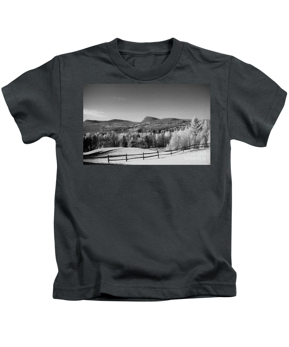 Landscape Kids T-Shirt featuring the photograph View Of Lake Willoughby by Richard Rizzo