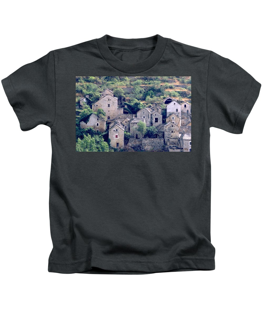 Village Kids T-Shirt featuring the photograph Village by Flavia Westerwelle