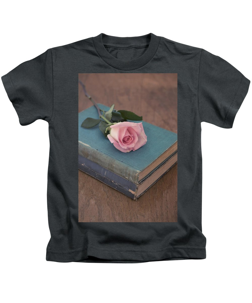 Beautiful Kids T-Shirt featuring the photograph Vintage Love by Kim Hojnacki
