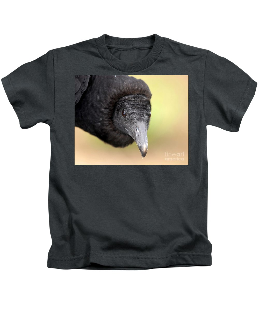 Black Vulture Kids T-Shirt featuring the photograph Waiting For You by David Lee Thompson