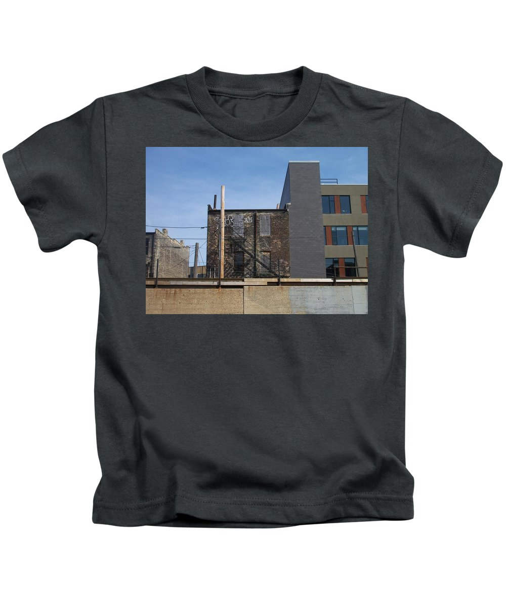 Walker's Point Kids T-Shirt featuring the photograph Walker's Point 2 by Anita Burgermeister
