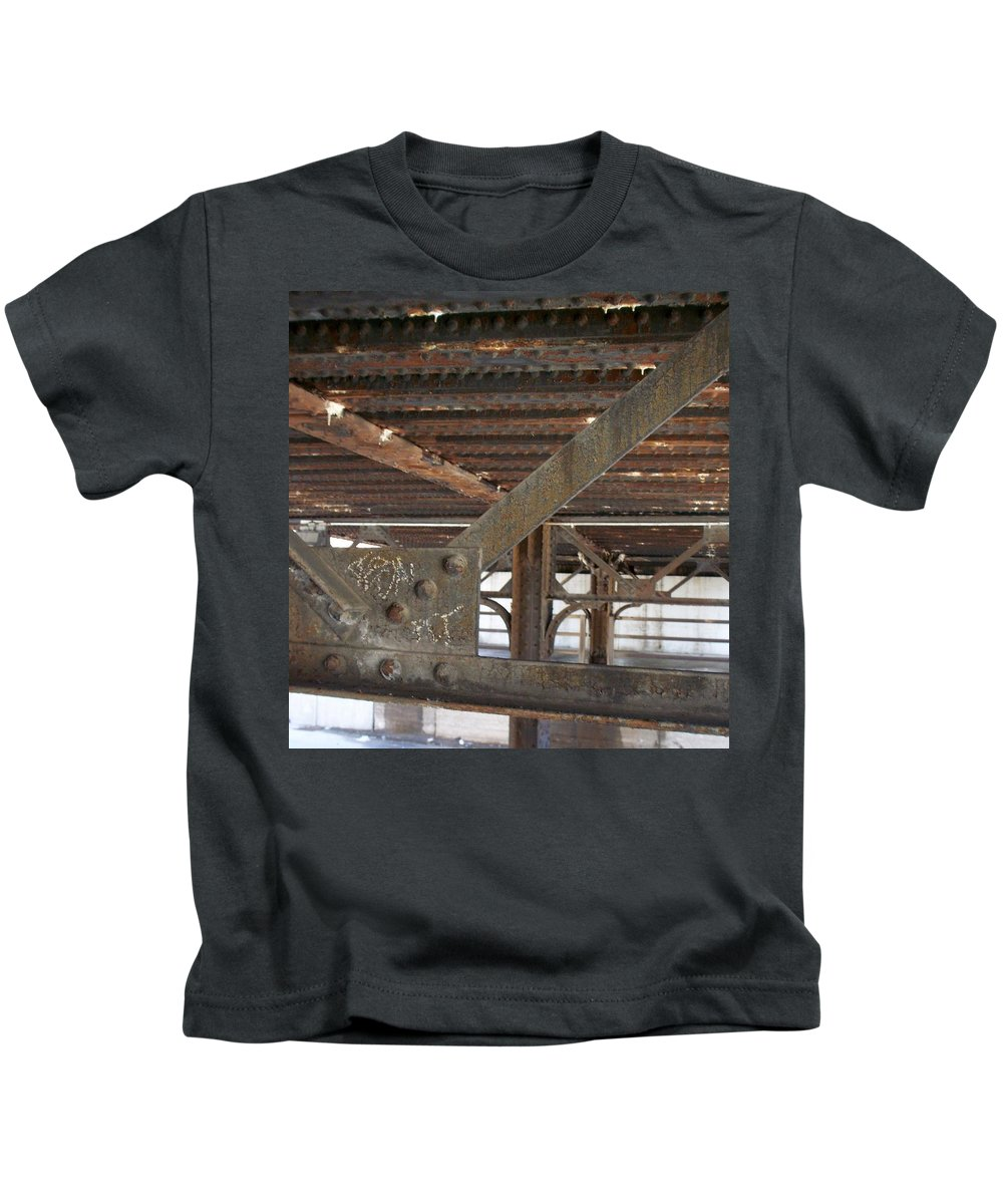 Walker's Point Kids T-Shirt featuring the photograph Walker's Point 6 by Anita Burgermeister