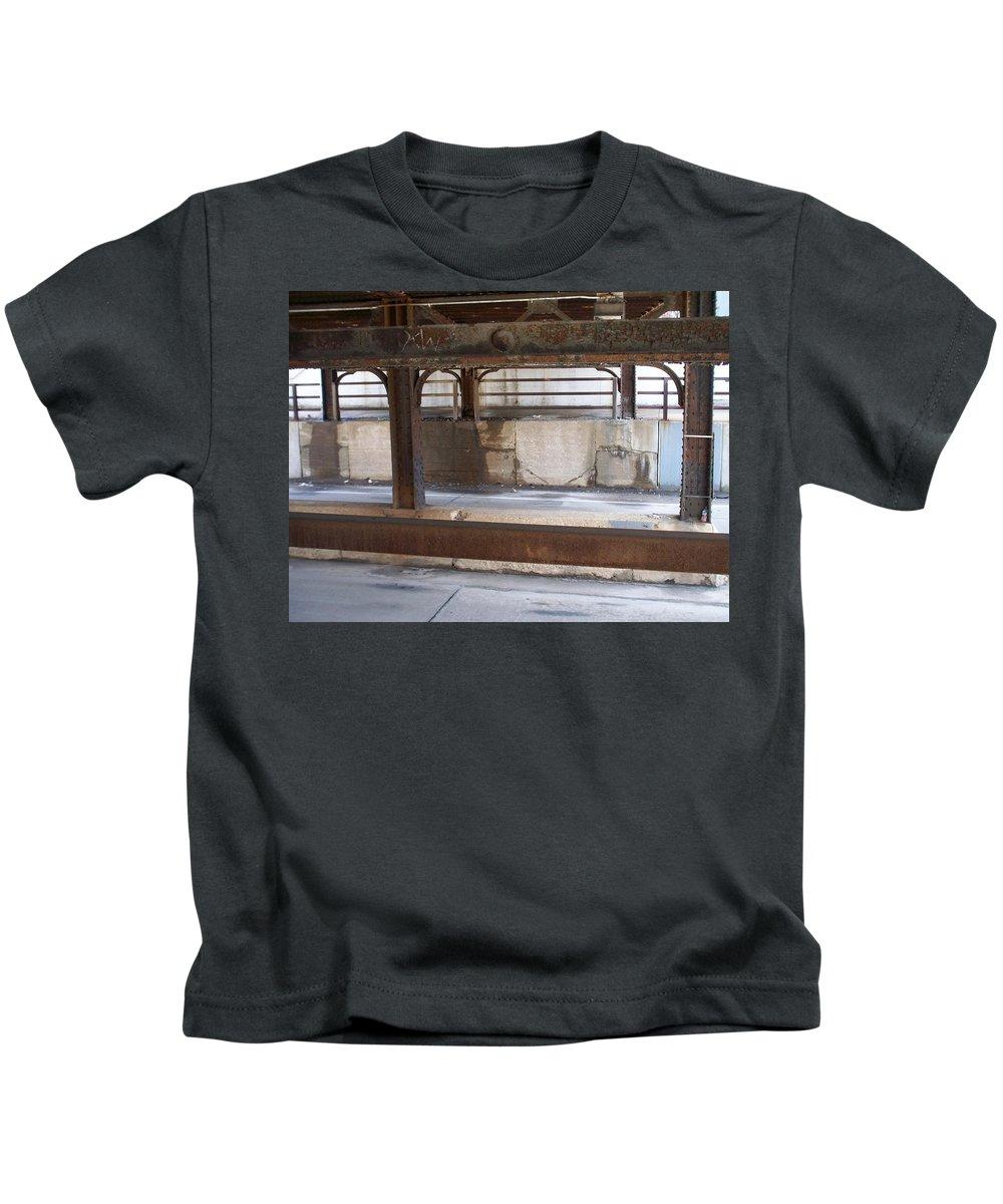 Walker's Point Kids T-Shirt featuring the photograph Walker's Point 7 by Anita Burgermeister
