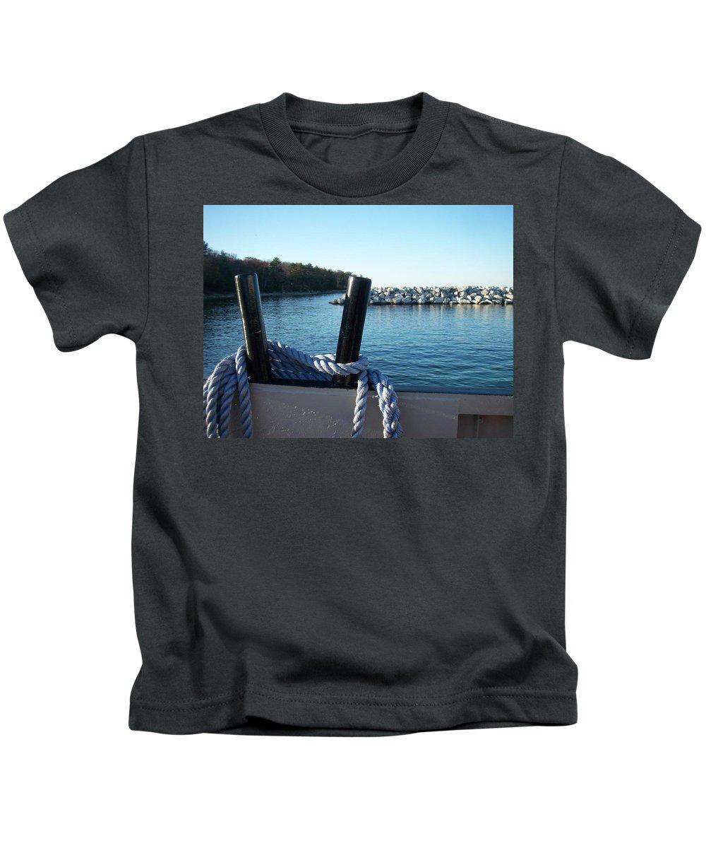 Washington Island Kids T-Shirt featuring the photograph Washington Island 1 by Anita Burgermeister