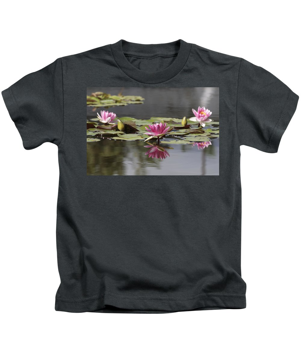 Lily Kids T-Shirt featuring the photograph Water Lily 3 by Phil Crean