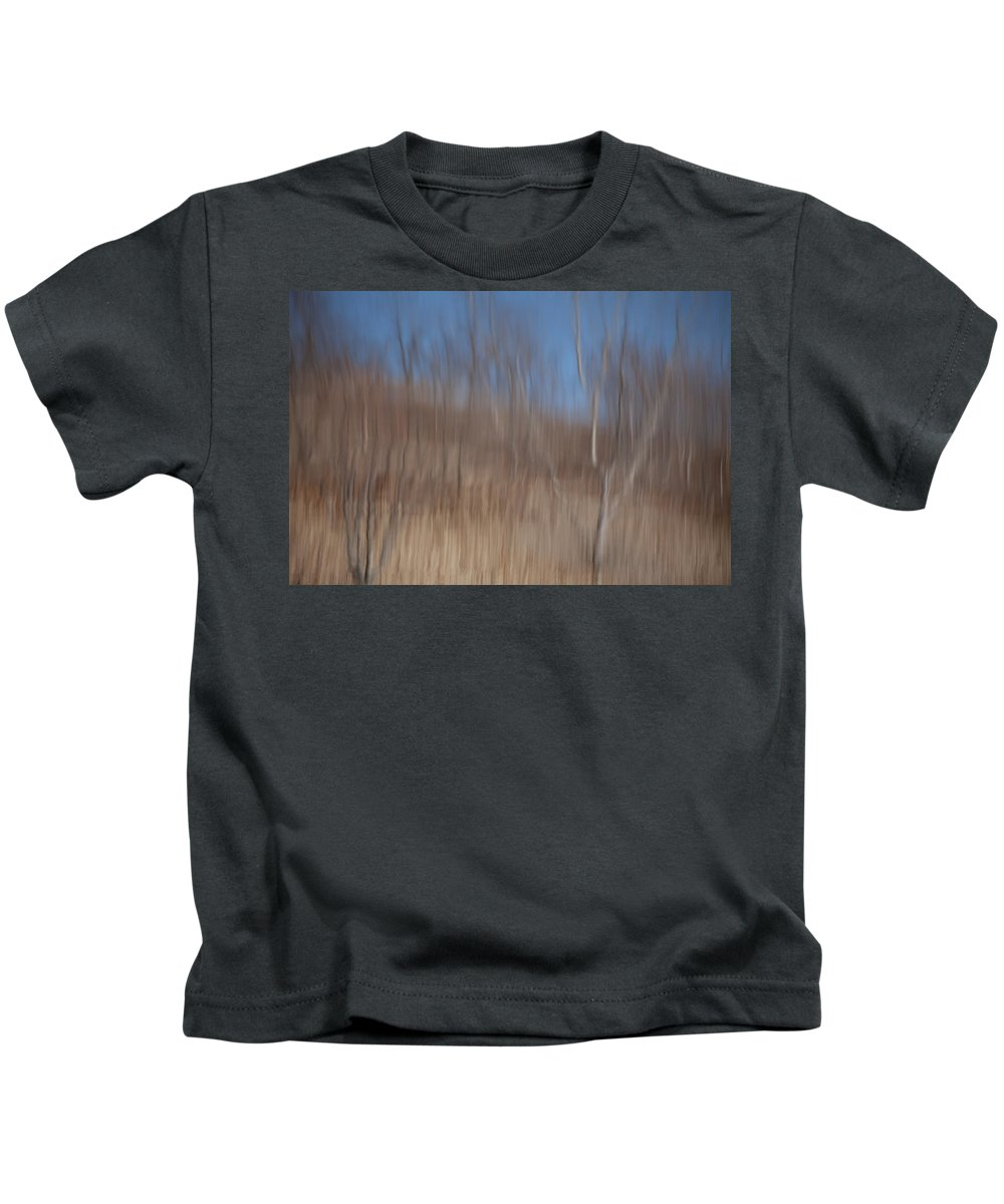 Weary Reflections Kids T-Shirt featuring the photograph Weary Reflections by Karol Livote