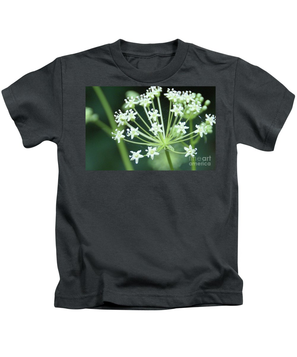 Flower Kids T-Shirt featuring the photograph Web Design - 2 by Linda Shafer