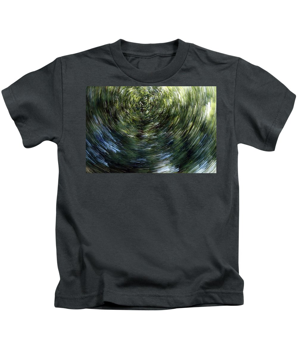 Conceptual Kids T-Shirt featuring the photograph Accumulation Of Time by Lawrence Nunziato