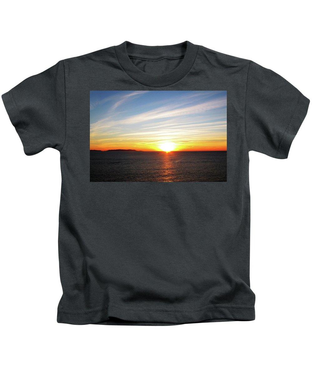 Sunrise Kids T-Shirt featuring the photograph White Light by Pauline Darrow