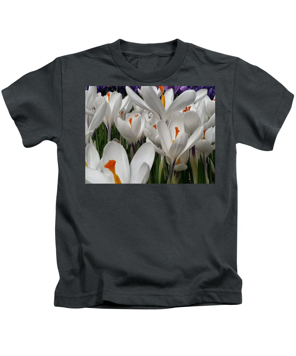 White Kids T-Shirt featuring the photograph White Magic by Timothy Porter