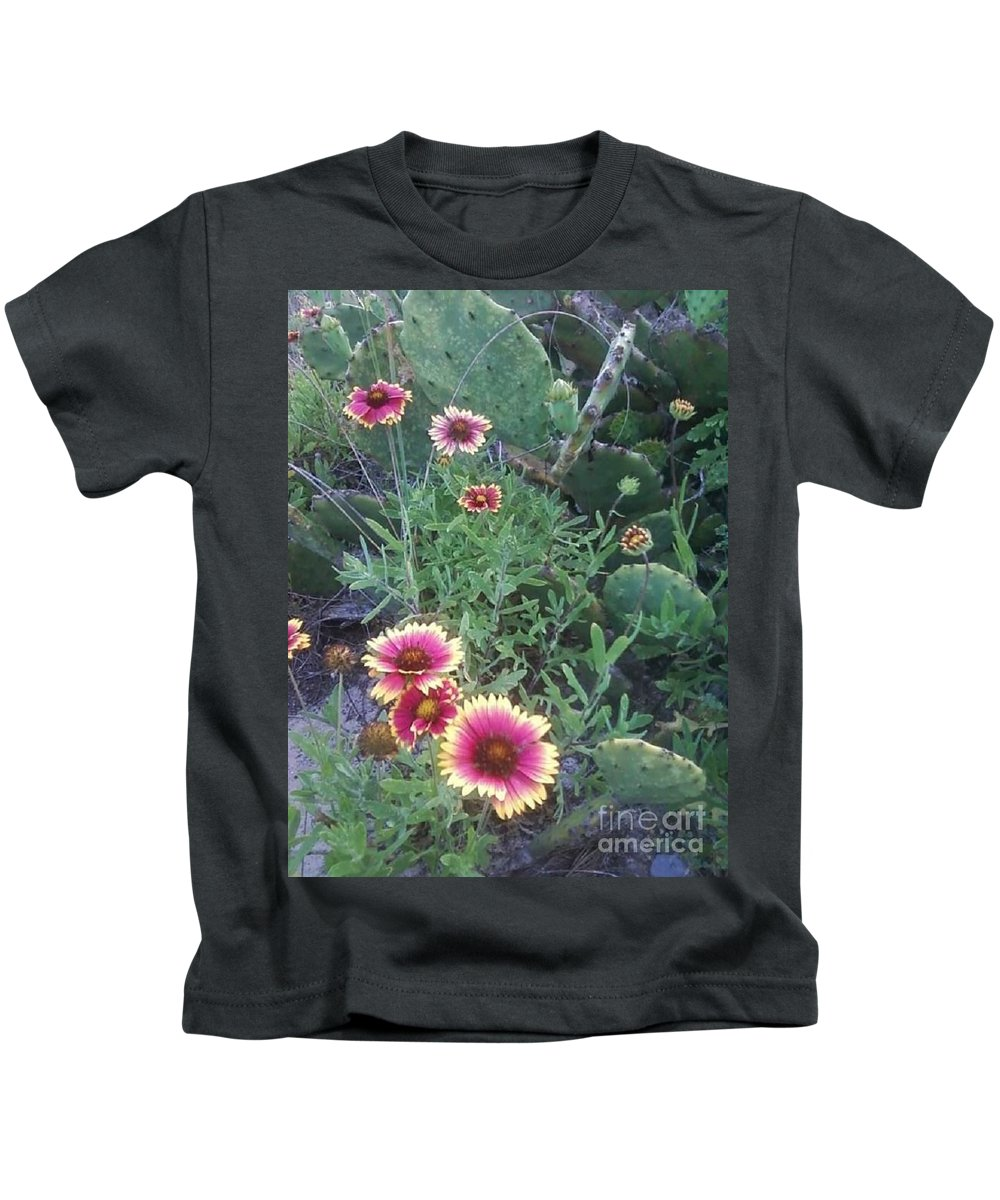 Catus Kids T-Shirt featuring the photograph Wild Catus by Michelle Powell