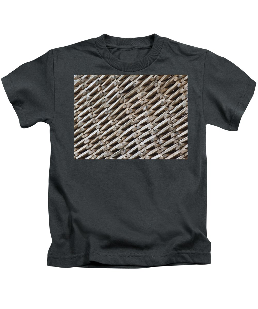 Patterns Kids T-Shirt featuring the photograph Willows by Satish Kumar