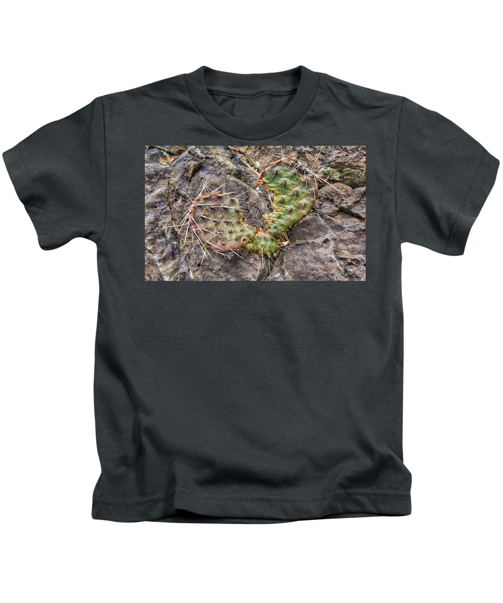 Woodrat Kids T-Shirt featuring the photograph Winter Hunger Quenched by Jim Thomas