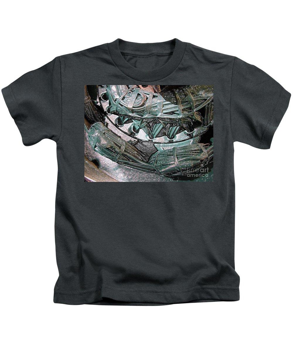 Digital Art Kids T-Shirt featuring the digital art Wound Tight by Ron Bissett
