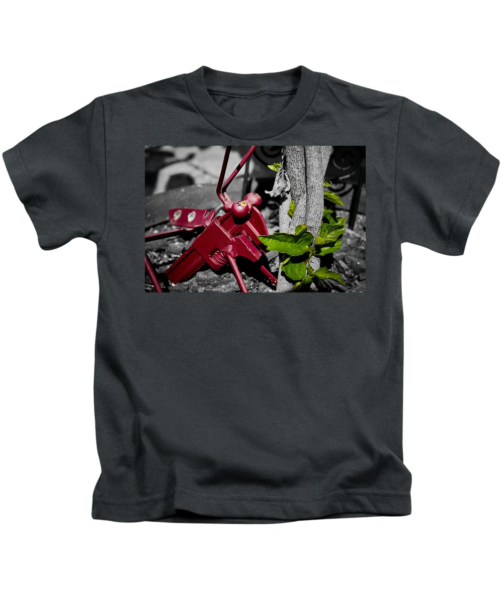 Wrench Kids T-Shirt featuring the photograph Wrench Fly by Jason Anetrini IrishDaego