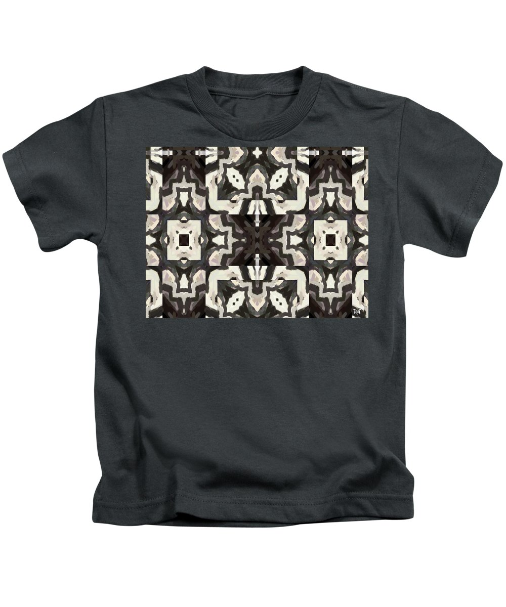 Digital Kids T-Shirt featuring the digital art X Marks The Spot by Maria Watt