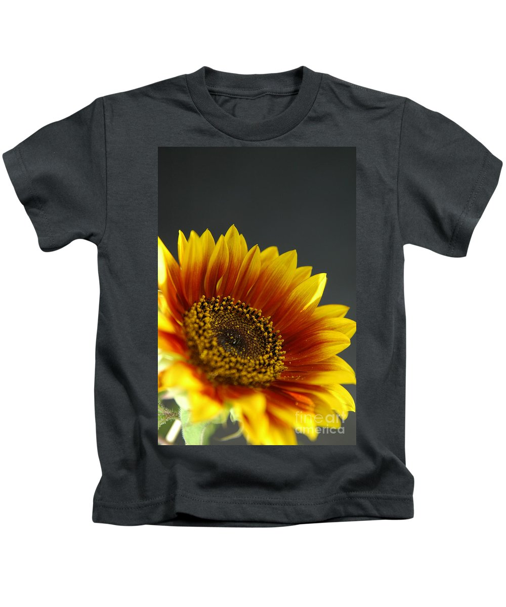 Yellow Kids T-Shirt featuring the photograph Yellow And Orange Gerber by Ilan Amihai