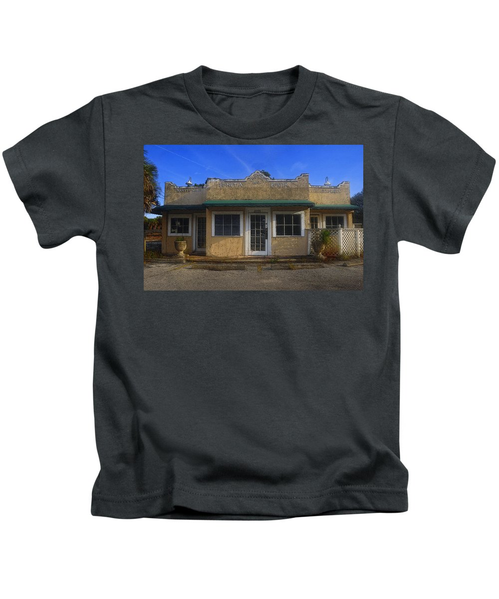 Art Kids T-Shirt featuring the painting Youmay Rest by David Lee Thompson