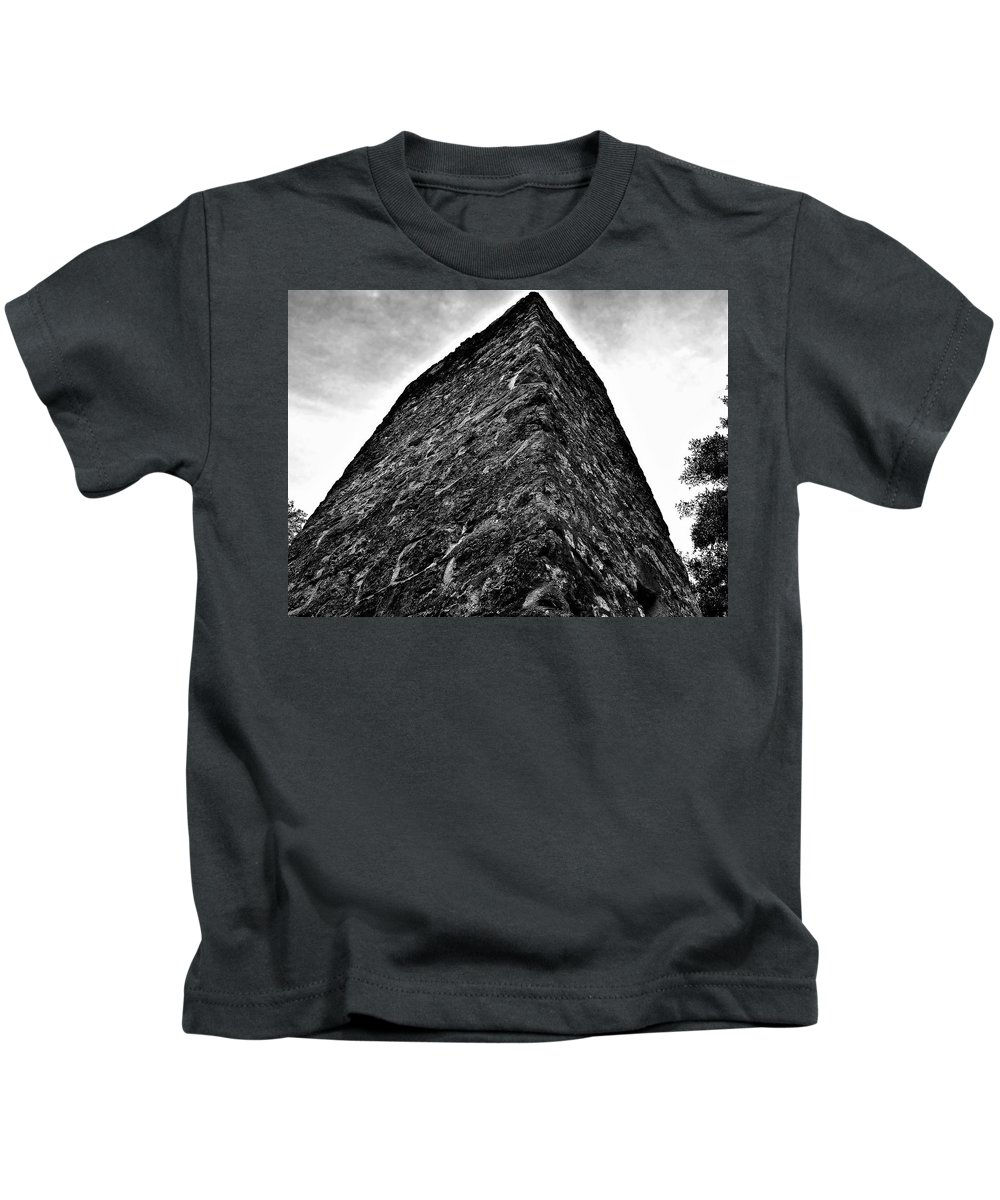 Yule Sugar Mills Ruins Kids T-Shirt featuring the photograph Yulee Sugar Mill Ruins by Mario Carta