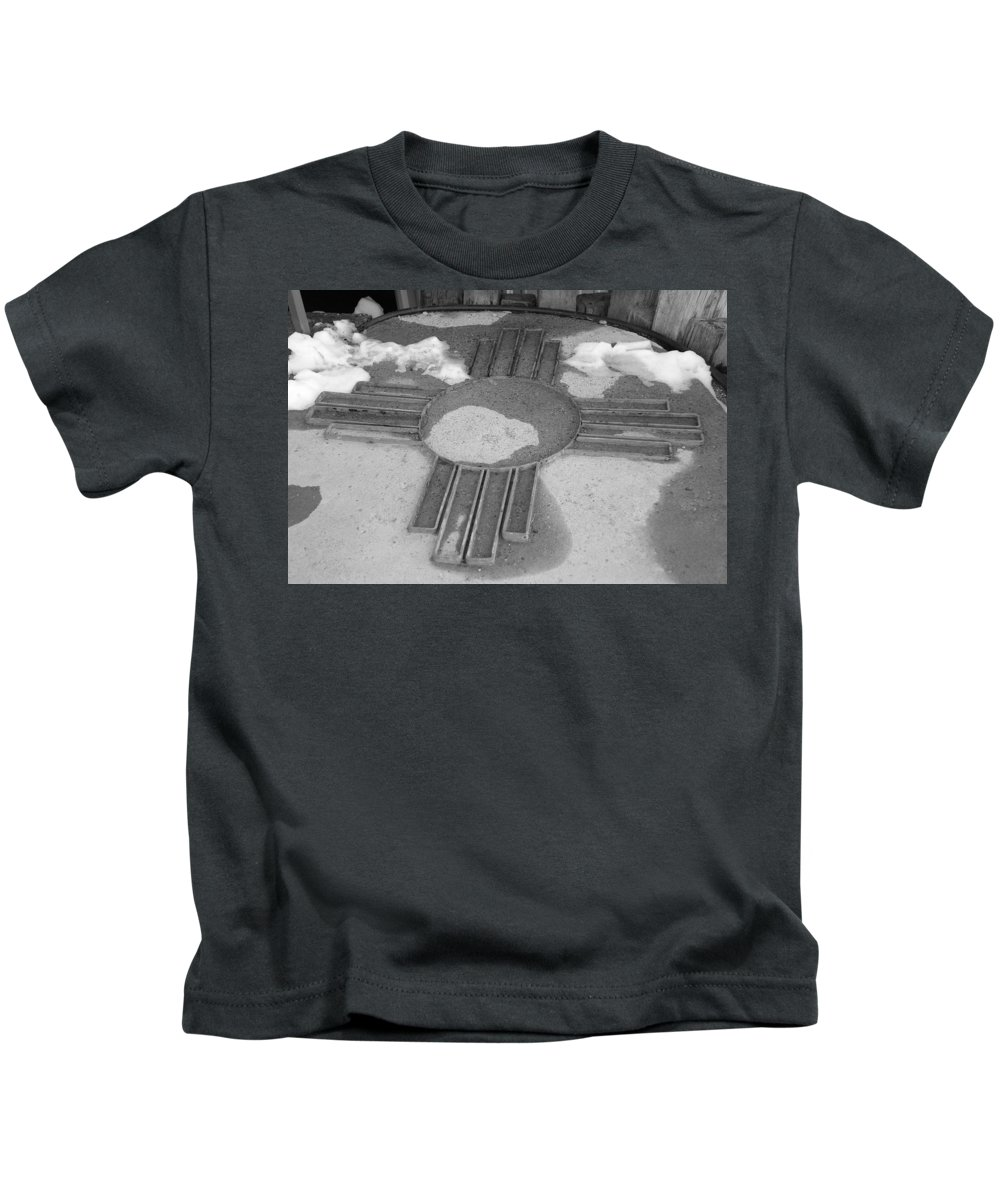 Zia Sun Kids T-Shirt featuring the photograph Zia Sun by Rob Hans