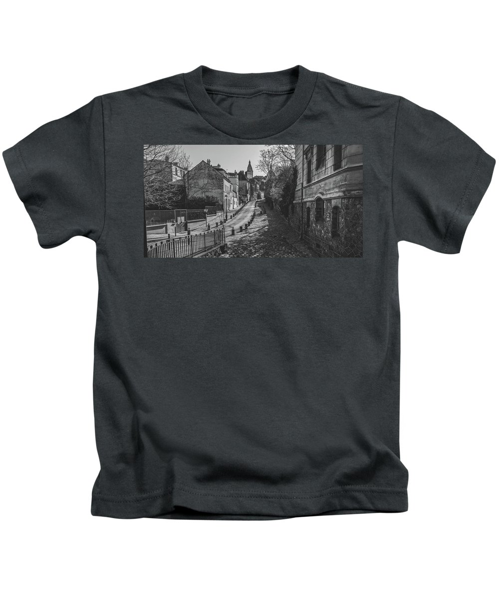 Paris Kids T-Shirt featuring the photograph Exploring Paris by Pixabay