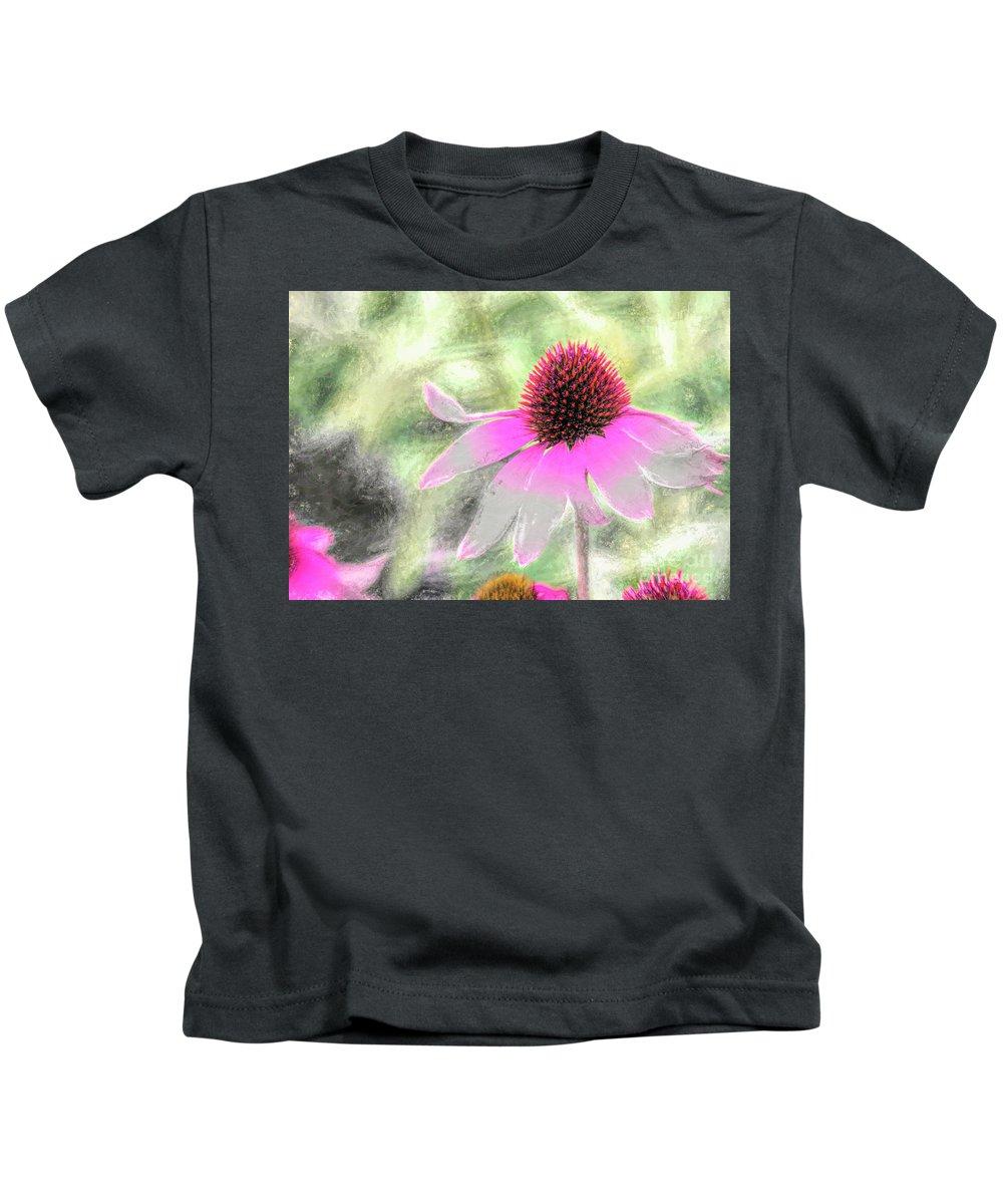 Blossom Kids T-Shirt featuring the photograph After Me by Jean OKeeffe Macro Abundance Art